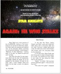 """""""Again, He Who Stalks"""" page 1"""